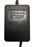 NES/SNES AC Adapter / Strömkabel (Svart kontakt)
