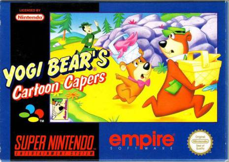 Adventures of Yogi Bear- Cartoon Capers