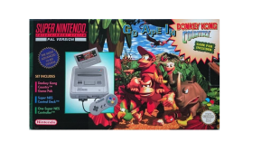Super Nintendo Console incl Donkey Kong Country SCN