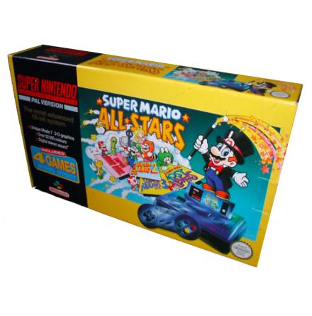 Super Nintendo Basenhet inkl Super Mario Allstars SCN