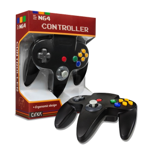N64 Handkontroll (Black) New