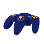 N64 Handkontroll (Blue) Ny