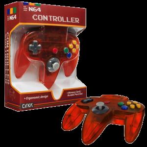 N64 Handkontroll (Fire orange) Ny