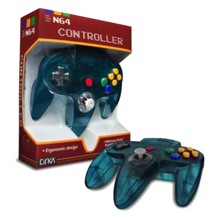 N64 Handkontroll (Turquoise) Ny