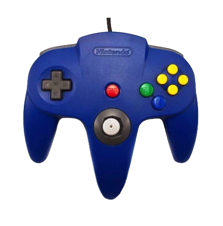 Nintendo 64 Controller Blue Used Original