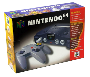 Nintendo 64 Console Charcoal Grey original