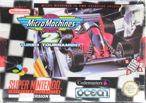 Micro Machines 2: Turbo Tournament