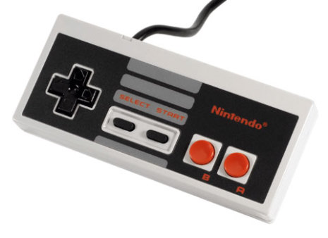 Handkontroll NES 004