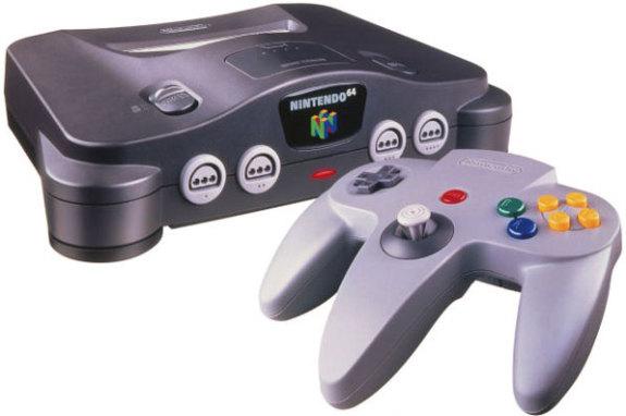 Nintendo 64 Konsoler