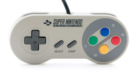Supernintendo Handkontroll