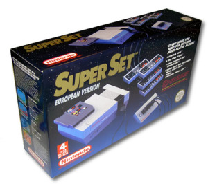 Nintendo Super Set: inkl Konsol, 4 HK, SMB/Tetris/WC, 4-player adapter