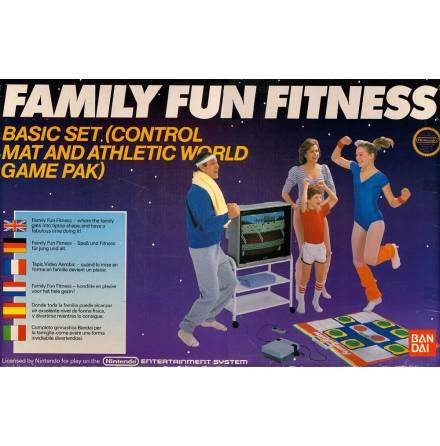 Family Fun Fitness Control Mat / Hoppmatta