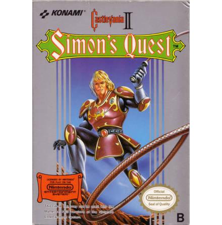 Castlevania II Simons Quest