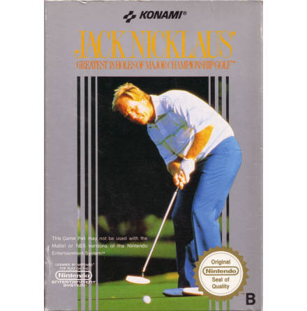 Jack Nicklau´s Golf Greatest 18 Holes of Major Championship Golf