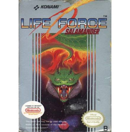 Life Force Salamander
