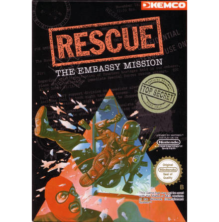 Rescue The Embassy Mission