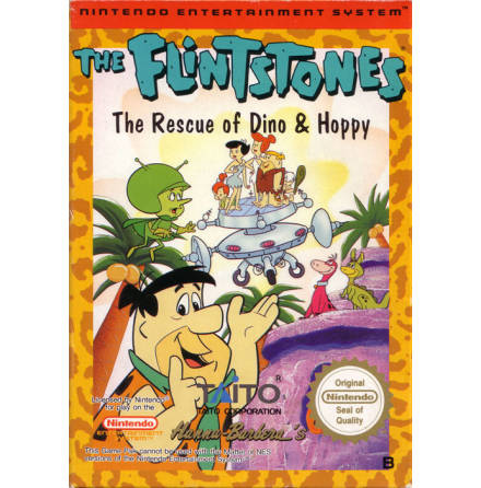 The Flintstones The Rescue of Dino & Hoppy