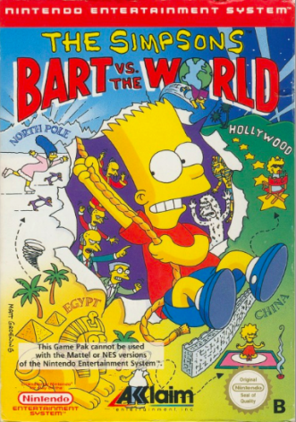 The Simpsons Bart vs. the World