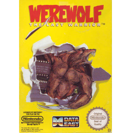 Werewolf the Last Warrior