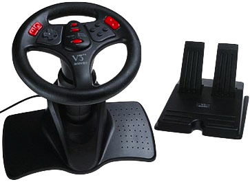 N64 Interact V3 Racing Wheel