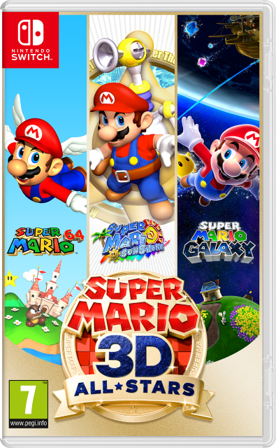 Super Mario 3D Allstars Switch inbyte Gamecube Retroplay